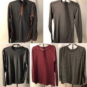 Men's exercise shirt bundle! Size Med